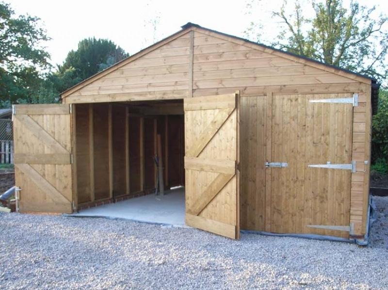 Garages And Workshops Garages Double Garage